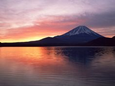 Another Japanese must, climbing Fuji and watching the sunrise