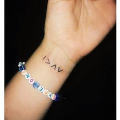 """My new little addition! """"I am greater than my highs and lows"""" #highsandlows #diabetestattoo #diabetesawareness"""