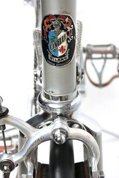 From the time when a bike was put together by the finest products from all manufacturer. Cinelli frame, Campagnolo brakes.