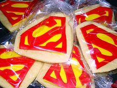SUPER Man...or Girl cookies
