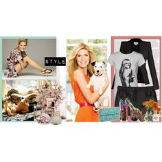 """Heidi Klum #9"" by yamyiy on Polyvore"