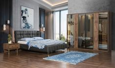 Gold Lüks Yatak Odası | Modern Yatak Odaları