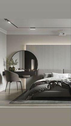 Modern Luxury Bedroom, Master Bedroom Interior, Luxury Bedroom Design, Room Design Bedroom, Bedroom Furniture Design, Home Room Design, Luxurious Bedrooms, Home Decor Bedroom, Home Interior Design