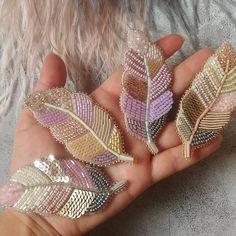 Embroidery Jewelry - How to Make Blue Seed Bead Embroidery Rose Bangle Bracelets - Slideit. Bead Embroidery Patterns, Bead Embroidery Jewelry, Rose Embroidery, Beading Patterns, Bead Jewellery, Seed Bead Jewelry, Beaded Jewelry, Seed Beads, Seed Bead Flowers