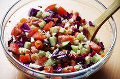 Chopped Veggie Salad Recipe