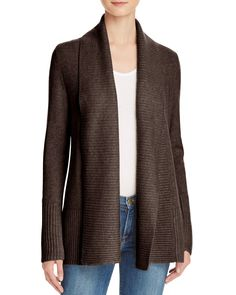 C by Bloomingdale's Shawl Collar Cashmere Cardigan