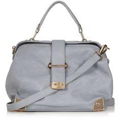 Topshop 'Small' Metal Detail Crossbody Bag ($35) ❤ liked on Polyvore featuring bags, handbags, shoulder bags, purses, bolsas, accessories, crossbody purse, crossbody hand bags, handbags shoulder bags and hand bags