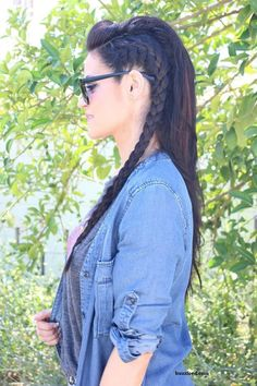 The Braided Hairstyles Over 50 Hairstyles With Braids Templates For You! Abp24image002