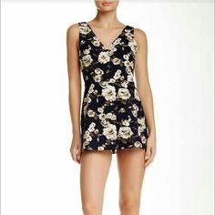 New Lush Floral Romper Dress