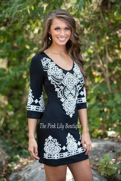 The Pink Lily Boutique - Lasting Impression Black Dress, $38.00 (http://thepinklilyboutique.com/lasting-impression-black-dress/)