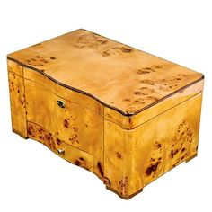 Humidors-Luxury Collection- Exotic High Piano Gloss Birdseye Maple Burl Exterior Cuban Crafters http://www.amazon.com/dp/B00K654C4Y/ref=cm_sw_r_pi_dp_Ym0Pub1539Y8Q