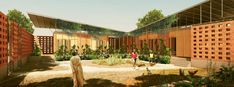 Kéré Architecture :: Benga Riverside Residential Community / Tete / Mozambique