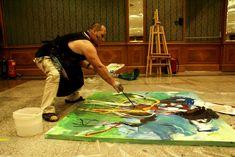 International Art Symposium in Kuwait Artist, Artwork, Painting, Work Of Art, Auguste Rodin Artwork, Artists, Painting Art, Artworks, Paintings