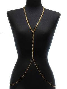 #JustArrived NECKLACE / BODY CHAIN / MULTI CHAIN / LINK / METAL / 18 INCH DROP / 24 INCH LONG / NICKEL AND LEAD COMPLIANT
