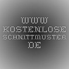 www.kostenlose-schnittmuster.de