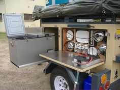 Rooikat Off Road Trailer Gallery Camping Trailer Diy, Bunkhouse Travel Trailer, Truck Bed Camping, Off Road Camper Trailer, Off Road Camping, Jeep Camping, Trailer Build, Camper Caravan, Camper Trailers
