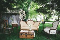 American Vintage Rentals-- furniture and decor for events