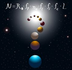 The Drake Equation (Photo Credit: meletver / Fotolia) / http://alien-ufo-sightings.com/2016/08/simple-formula-can-help-find-aliens/