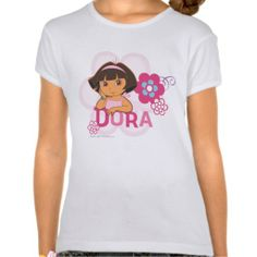 Dora The Explorer - Dora with Flowers T Shirt today price drop and special promotion. Get The best buyThis Deals          	Dora The Explorer - Dora with Flowers T Shirt please follow the link to see fully reviews...