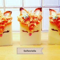 """Gefällt 4 Mal, 1 Kommentare - Seifenriella (@seifenriella) auf Instagram: """"#natur #kleinerfuchs #foxlove #soap #naturesoap #wissenwasdrinnist #selfmade"""" Panna Cotta, Pudding, Ethnic Recipes, Desserts, Instagram, Food, Nature, Tailgate Desserts, Dulce De Leche"""