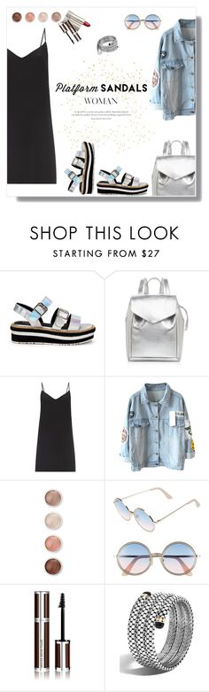 """PlatformSandals"" by daniela-castro-741 ❤ liked on Polyvore featuring Loeffler Randall, Raey, Terre Mère, Sunday Somewhere, Agent Provocateur, Ilia, Givenchy, John Hardy, platforms and platformsandals"