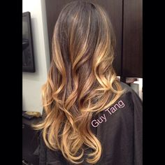 Low maintenance ombre I gave my client.