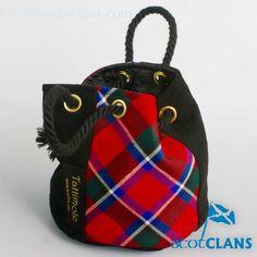 Sinclair Tartan Bag.