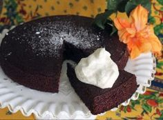 Wet Chocolate L'Orange Pound Cake   Recipe on idahopotato.com