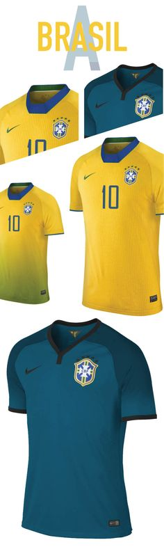 f3c6f883e Nerea Palacios Brasil. World Cup. Group A. Concepts on Behance Football  Uniforms
