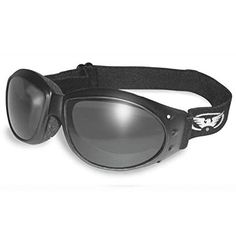 815fad0dcdad1 ELIMINATOR GOGGLES MOTORCYCLE PADDED EYEWEAR SMOKED TINT LENSES These Are  Specially Made to Keep Dust And Wind Out Of Your Eyes Review