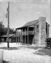 1808           Fort Osage was established on the Missouri River