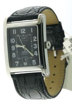Oris Andere Uurwerken horloges CLASSIC RECTANGULAR 585 7460 40 64 LS Watchbox Knokke Antwerpen