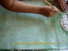 Tutorial Como Pintar Camisetas Paint Tshirt Pintura en Tela Painting Tshirt Pintura Facil Para Ti - YouTube
