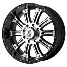 13 best truck wheel ideas images truck wheels chevrolet silverado Custom 01 Silverado 1500 Black Rims 16 inch xd795 hoss gloss black rim with machined face rim wheel rim and