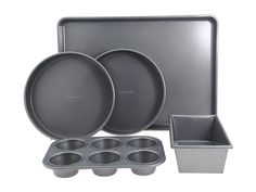 Calphalon Nonstick 5-Piece Bakeware Set Silver - Zappos.com Free Shipping BOTH Ways