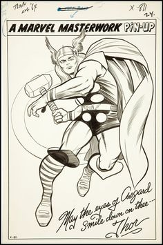Thor by Jack Kirby