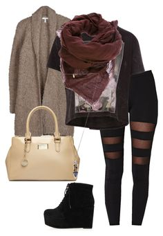 """""""Sem título #440"""" by shescyrus ❤ liked on Polyvore featuring Joie, Pull&Bear, DKNY, Topshop, Faliero Sarti and Pamela Love"""