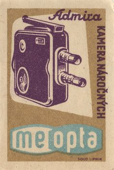czechoslovakian #matchbox label by maraid,  To Design and Order your Branded Logo'd #matches GoTo: www.GetMatches.com or Call 800.605.7331 Today!
