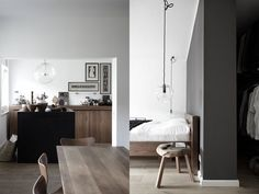 design traveller: Colour code: black...grey...white...wood