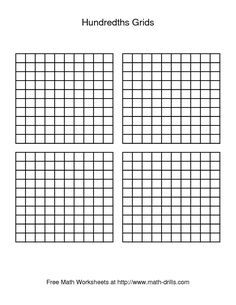 Best Math Grids Images  Grid Calculus Math  By  Grids To Add Decimals  Google Search Teaching Decimals Decimals  Worksheets