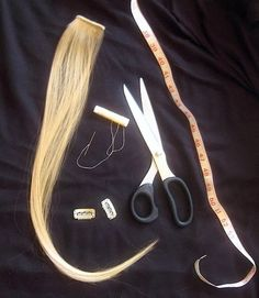 How to make your own #thick #ClipOn #HairExtensions from Oh You Crafty Gal http://ohyoucraftygal.blogspot.com/2013/12/how-to-make-your-clip-on-hair.html