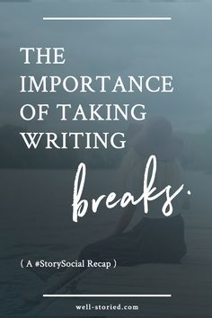 Hey, writer! Find yourself constantly stretch thin or burned out? It might be time to schedule a few writing breaks!