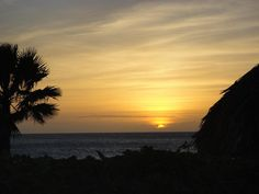 Curacao Sunset Photograph by Tammy Finnegan