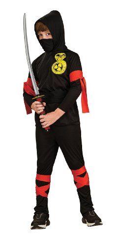 Haunted House Child's Black Ninja Costume, Small Rubie's Costume Co http://www.amazon.com/dp/B001CBMLIK/ref=cm_sw_r_pi_dp_Qt5Ytb14RW3SAD07