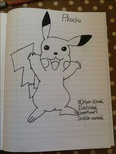 Hier een Pokemon... Pikachu!!