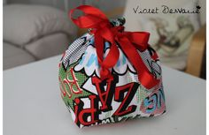 Bolsa almuerzo o merienda Lunch or snack bag por VioletDesvarie