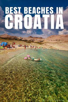 What to do in Croatia: Best Beaches. Ručica Beach, Island of Pag.
