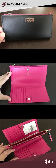 ee887d1040659 I love the style of this Wallet but the pink just isn t me so I m hoping  that someone else will love and use it the way it should be!