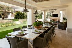 Mediterranean Manhattan Beach Home - mediterranean - patio - los angeles - by Tomaro Design Group