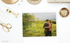 Printable Save the Date  Confetti   5x7 Save by blushprintables, $15.00